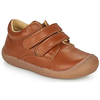 Sapatos Criança Sapatilhas de cano-alto Citrouille et Compagnie PIOTE Castanho
