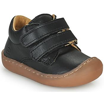 Sapatos Criança Sapatilhas de cano-alto Citrouille et Compagnie PIOTE Preto