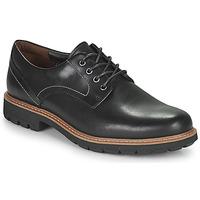 Sapatos Homem Sapatos Clarks Batcombe Hall Preto