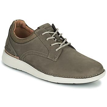 Sapatos Homem Sapatos Clarks LARVIK TIE Castanho