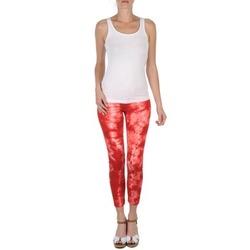 Textil Mulher Calças curtas Eleven Paris DAISY Vermelho / Branco