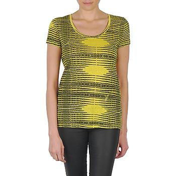 Textil Mulher T-Shirt mangas curtas Eleven Paris DARDOOT Amarelo