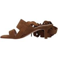 Sapatos Mulher Sandálias Janet&Janet 01151 Castanho