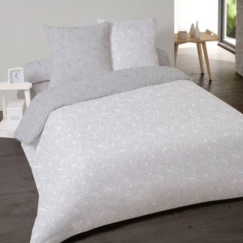 Casa Conjunto de roupa de cama Mylittleplace NIORT Cinza