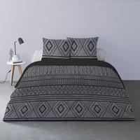 Casa Conjunto de roupa de cama Mylittleplace BEN Preto
