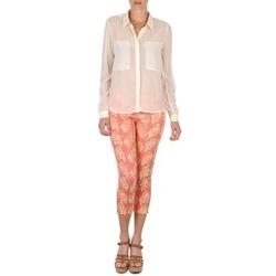Textil Mulher Calças curtas Manoush PANTALON GIPSY JEANS Rosa