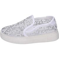 Sapatos Rapariga Slip on Holalà Sneakers BH22 Branco