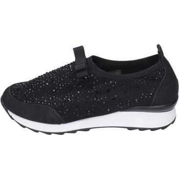 Sapatos Rapariga Slip on Holalà Sneakers BH23 Preto