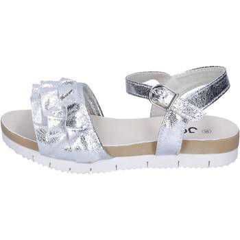 Sapatos Rapariga Sandálias Joli BH24 Prata