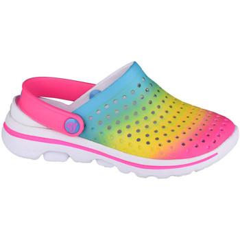 Sapatos Criança Tamancos Skechers Go Walk 5-Play By Play Multicolore