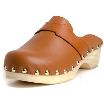 Sapatos Mulher Tamancos Tiziana ZUECO 05P Castanho