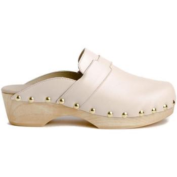 Sapatos Mulher Tamancos Tiziana ZUECO 05P Bege