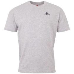 Textil Homem T-Shirt mangas curtas Kappa Veer T-Shirt Grise