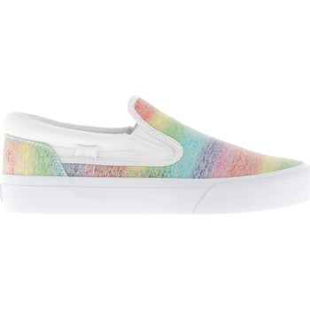 Sapatos Mulher Slip on DC Shoes Trase Slip Multicolorido