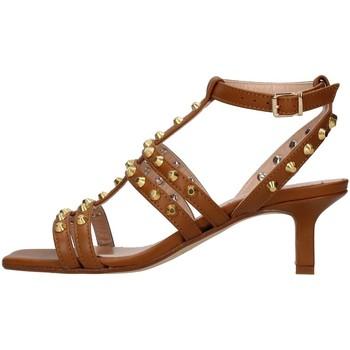 Sapatos Mulher Sandálias Janet&Janet 01150 Castanho