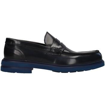 Sapatos Homem Mocassins Antony Sander 100 Azul