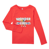 Textil Rapariga T-shirt mangas compridas Only KONTINNA Rosa