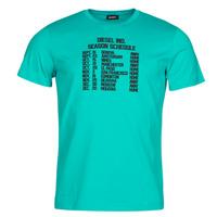 Textil Homem T-Shirt mangas curtas Diesel T-DIEGOS Azul