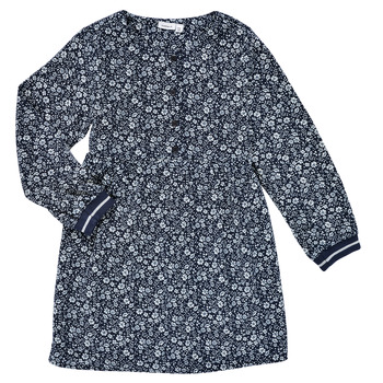 Textil Rapariga Vestidos curtos Name it NKFKARINFRA LS DRESS Marinho