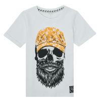 Textil Rapaz T-Shirt mangas curtas Name it NKMKSOYTAN SS TOP Branco