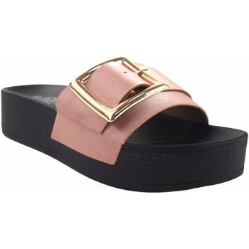 Sapatos Mulher Chinelos Kelara Senhora da praia  k12029 salmão Rosa