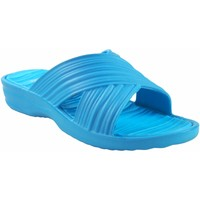 Sapatos Mulher Chinelos Kelara Senhora da praia  k02017 celeste Azul