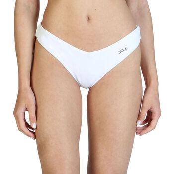 Textil Mulher Biquínis separados Karl Lagerfeld - kl21wbt05 Branco
