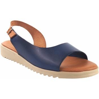 Sapatos Mulher Sandálias Eva Frutos Sandália senhora  1205 azul Azul