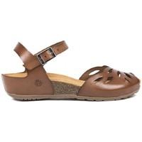 Sapatos Mulher Sandálias Yokono MONACO-003 Castanho