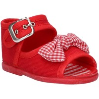 Sapatos Rapariga Sandálias Cotton Club CC0004 Rojo