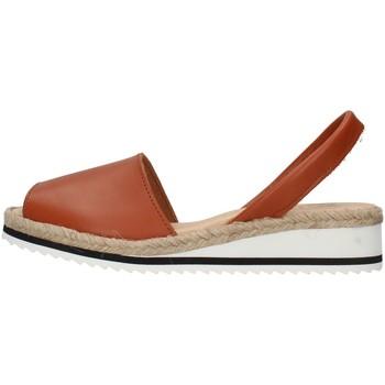Sapatos Mulher Sandálias Ska 21CORFUNM Castanho