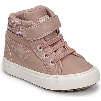 Sapatos Rapariga Sapatilhas de cano-alto Kangaroos KAVU III Rosa