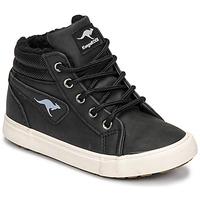 Sapatos Rapaz Sapatilhas de cano-alto Kangaroos KAVU I Preto