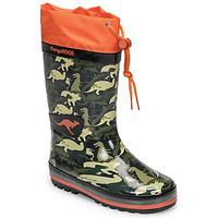 Sapatos Rapaz Botas de borracha Kangaroos K-RAIN Cáqui