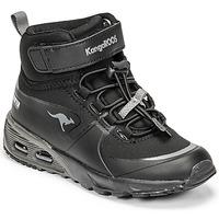 Sapatos Rapaz Sapatilhas de cano-alto Kangaroos KX-HYDRO Preto