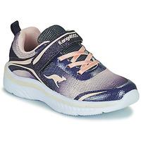 Sapatos Rapariga Sapatilhas Kangaroos K-MAID GLEAM EV Azul / Prata