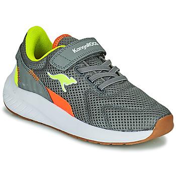 Sapatos Rapaz Sapatilhas Kangaroos K-FORT JAG EV Cinza