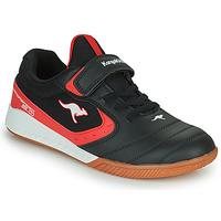 Sapatos Criança Sapatilhas Kangaroos K5-COURT EV Preto / Vermelho