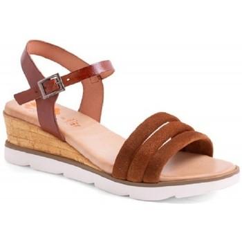 Sapatos Mulher Sandálias Porronet 2770-020-110 MUNA Castanho