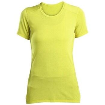 Textil Mulher T-Shirt mangas curtas Saucony SAW800023 Amarelo