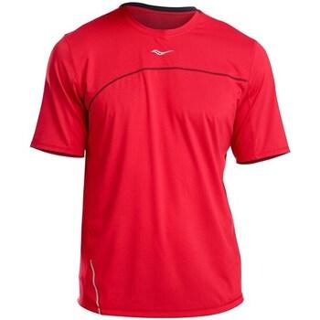 Textil Homem T-Shirt mangas curtas Saucony SAM800214 Vermelho