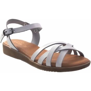 Sapatos Mulher Sandálias Duendy senhora  3265 branca Branco
