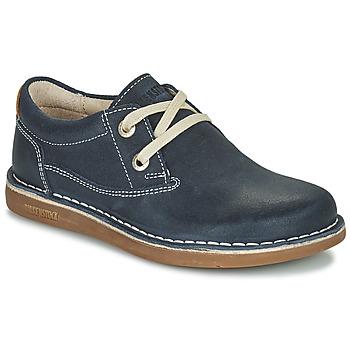 Sapatos Criança Sapatos Birkenstock MEMPHIS KIDS Azul / Escuro