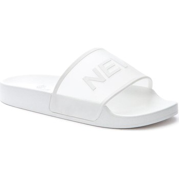 Sapatos Mulher chinelos Keddo White Casual Flat Slippers White