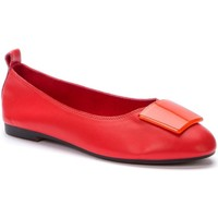 Sapatos Mulher Sabrinas Betsy Red Casual Low Heel Flats Red