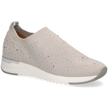 Sapatos Mulher Slip on Caprice Pebble Casual Trainers Grey
