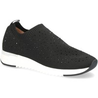 Sapatos Mulher Slip on Caprice Black Casual Trainers Black
