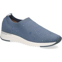 Sapatos Mulher Slip on Caprice Jeans Casual Trainers Blue