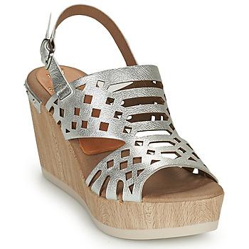 Sapatos Mulher Sandálias Dorking SALMA Prata