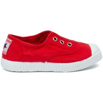 Sapatos Criança Sapatilhas de ténis Cienta Chaussures en toiles bébé  Tintado rouge
